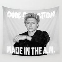 niall Wall Tapestries featuring Made in the A.M Niall by kikabarros