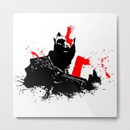 Kratos - God of War Metal Print