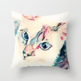 Monkey Paws Throw Pillow