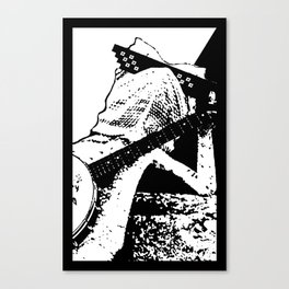 """Larry """"Deal With It"""" Lizard Canvas Print"""