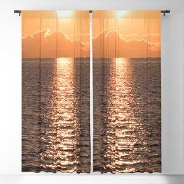 Asymmetrical Glow Blackout Curtain
