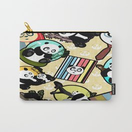 Panda Mix Carry-All Pouch