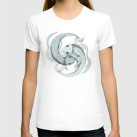 pisces T-shirts featuring Pisces by Vibeke Koehler