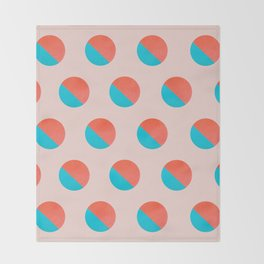 Abstraction_DOT_LOVE_002 Throw Blanket