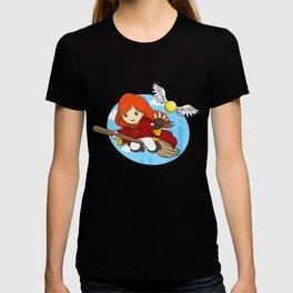 HP - Snitch Catcher - Ginger girl T-shirt