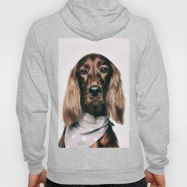 Fashionable spaniel doggo Hoody