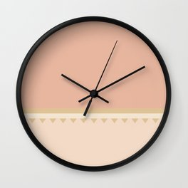Jagged 7 Wall Clock