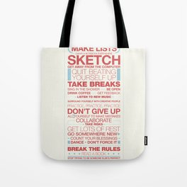 29 Ways to Stay Creative Tote Bag