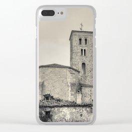 Ancient church Clear iPhone Case