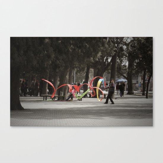 Wind Machine Canvas Print