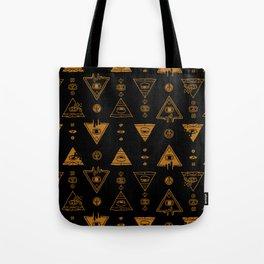 Seeing (Dark) Tote Bag