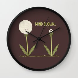 Mind Blown Wall Clock