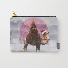 Santa Camel Carry-All Pouch