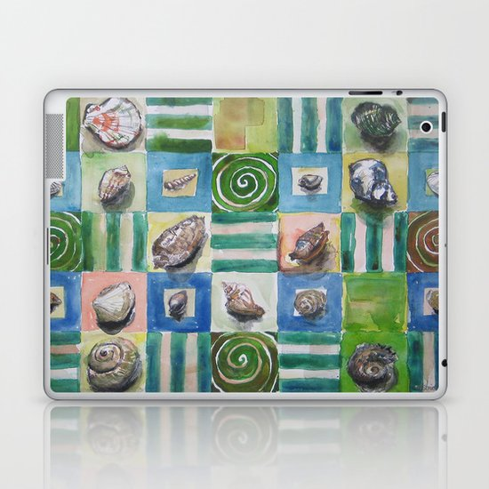 Shell and stripes Laptop & iPad Skin
