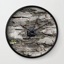 Tree trunk & Tiny Tiny Camera Wall Clock