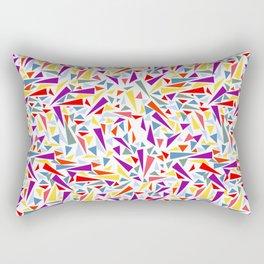 composición de triángulos Rectangular Pillow