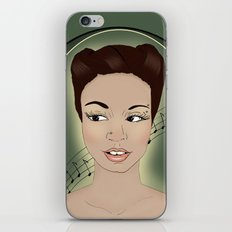 Miss Melody iPhone & iPod Skin
