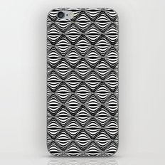 Warp Field (B&W) iPhone & iPod Skin