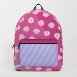 Pink Gamer Girl Backpack