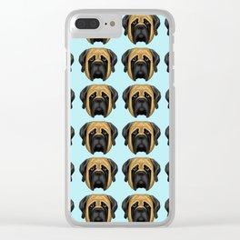 Apricot Mastiff Clear iPhone Case