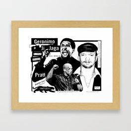 Geronimo Ji Jaga Framed Art Print