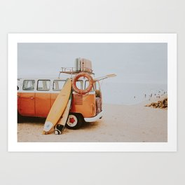 lets surf viii Art Print
