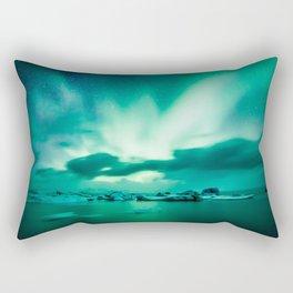 Aurora Borealis. Rectangular Pillow