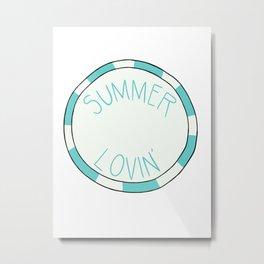 Summer Lovin' Metal Print