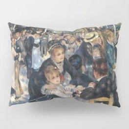 """Pierre Auguste Renoir """"Dance at Moulin de la Galette"""" Pillow Sham"""