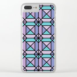 Aesthetics: abstract pattern Clear iPhone Case