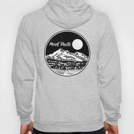 Mount Shasta Black and White Hoody
