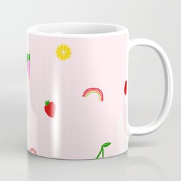 Fruit Print Coffee Mug