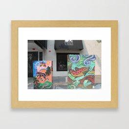 Outdoor Artwork Framed Art Print