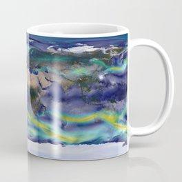 A Portrait of Global Winds Coffee Mug