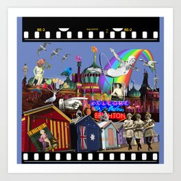 Fabulous Brighton Art Print