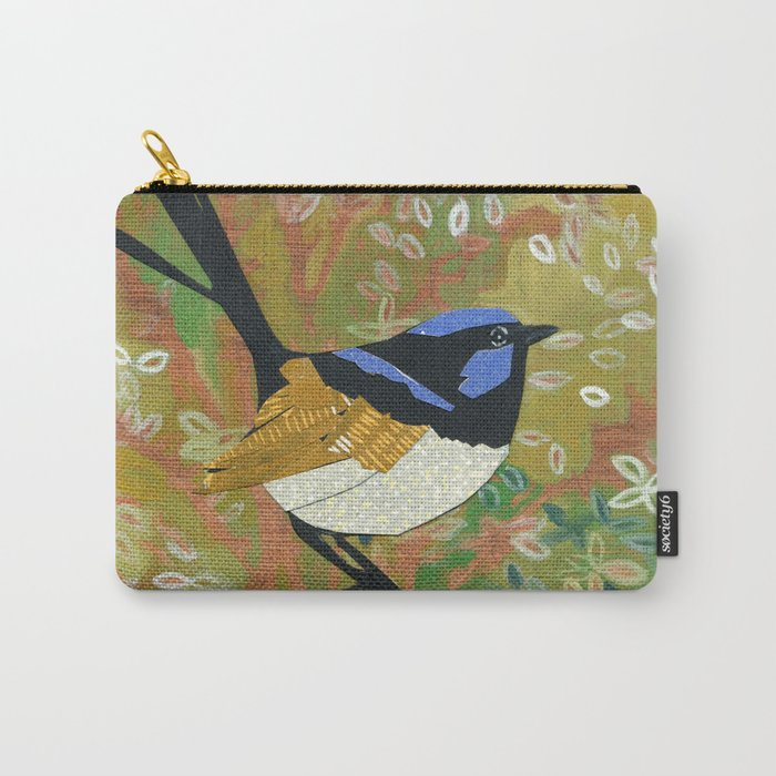 Superb Fairy Wren Carry-All Pouch