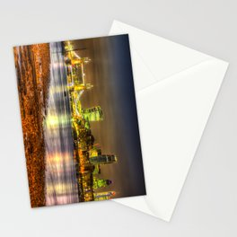 London at Night Stationery Cards