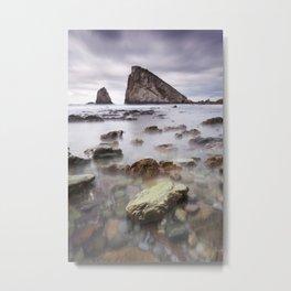 The rock Metal Print
