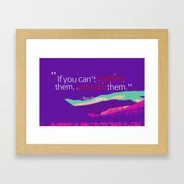 Inspirational Timeless Quotes - Ben Hogan Framed Art Print