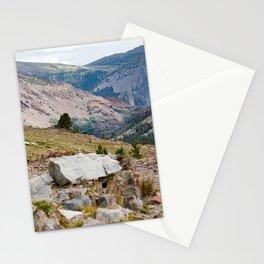 Yosemite Mountain View Stationery Cards