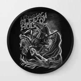 The Legend of Sleepy Hollow Wall Clock