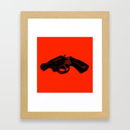 Hammer and barrell Framed Art Print