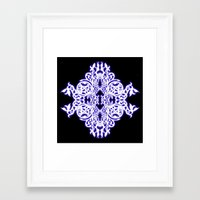 gothic Framed Art Prints featuring Gothic  by pwrighteous