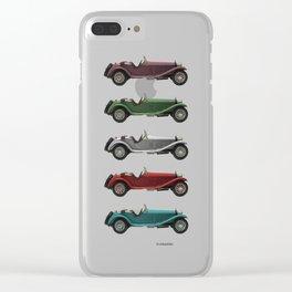 Five Alfa's Clear iPhone Case