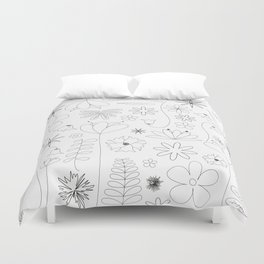 Miscellaneous flowers Duvet Cover