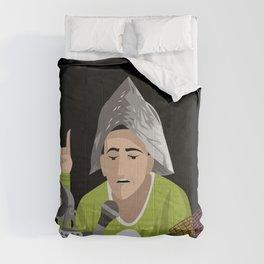 alien conspiracy man Comforters