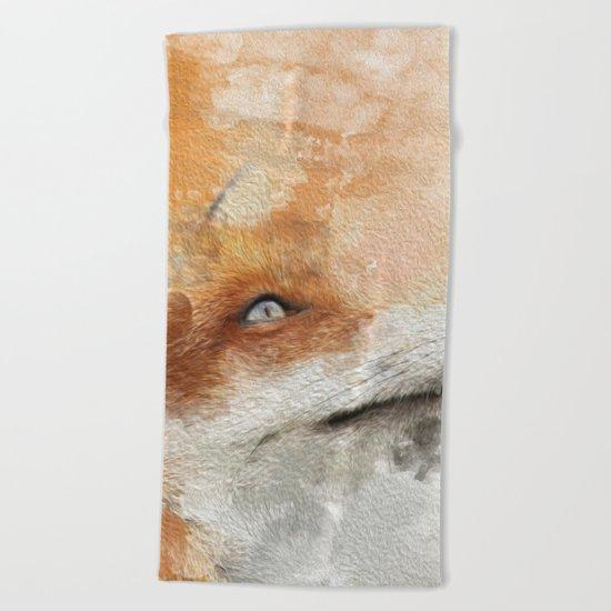 The Fox Beach Towel