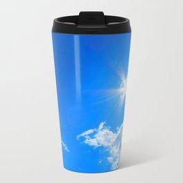 Sun, clouds Travel Mug