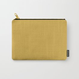 Mustard Yellow Color Carry-All Pouch
