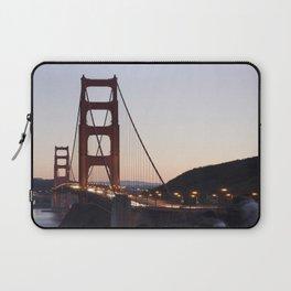 Golden Gate Bridge at Twilight Laptop Sleeve